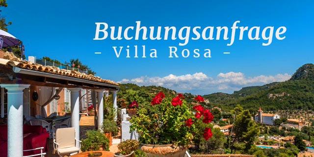 Buchungsanfrage Villa Rosa